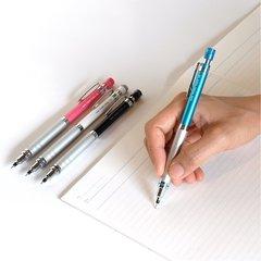 Механический карандаш 0,5 мм Uni Kuru Toga High Grade (голубой металлик)