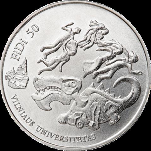 """1,5 евро 2018 Литва """"День физика"""""""