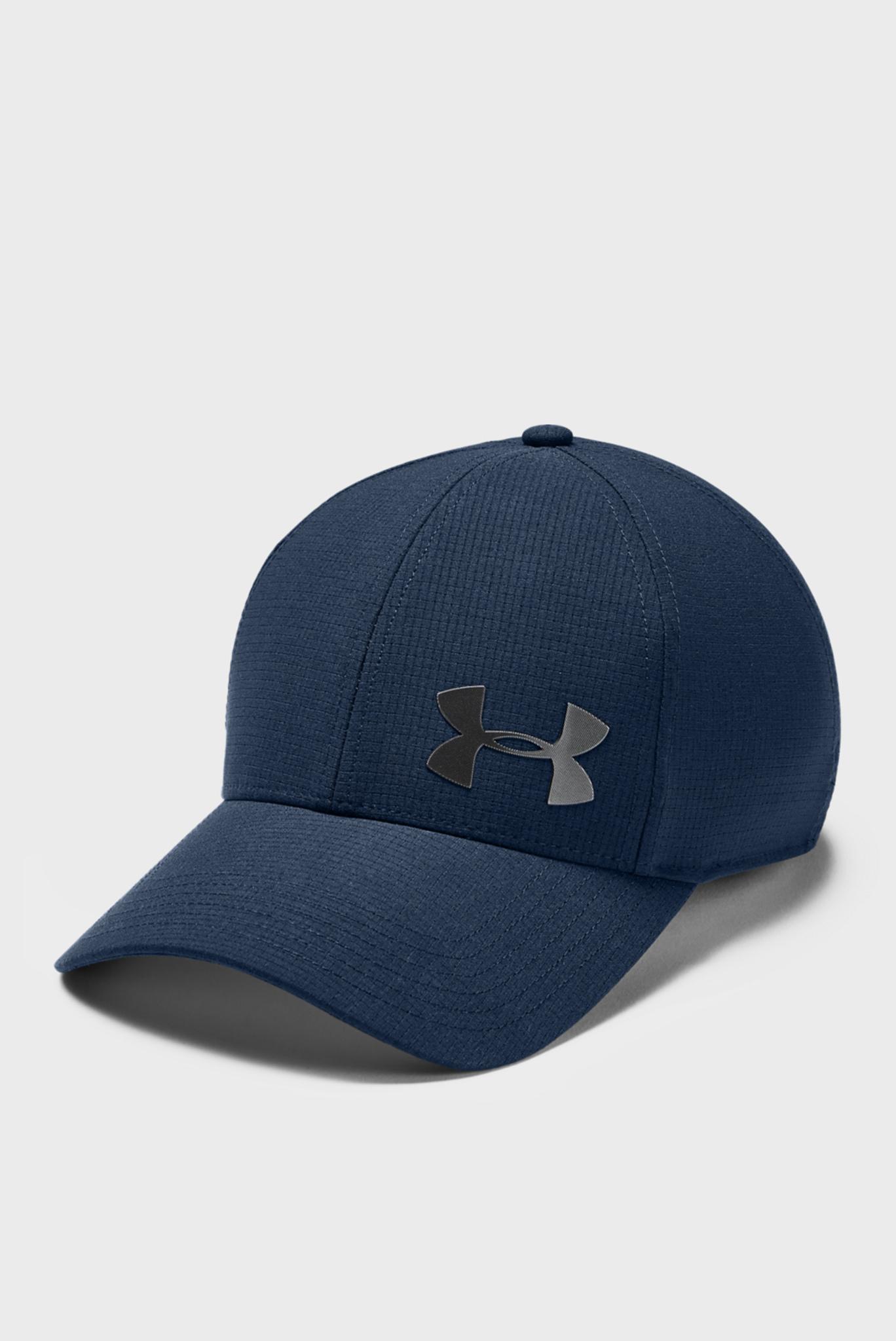 Мужская синяя кепка  UA Men's Airvent Core Cap 2.0-NVY Under Armour