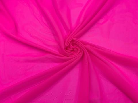 Сетка эластичная розовый неон