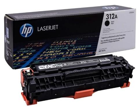 Оригинальный картридж HP CF380A 312A черный