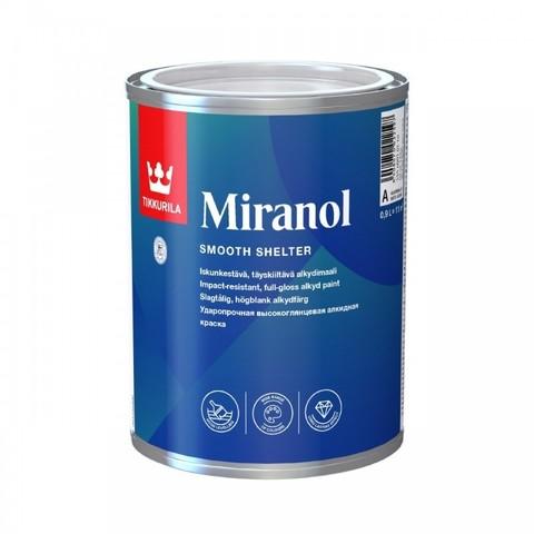 Tikkurila Miranol / Тиккурила Миранол эмаль для металлических и деревянных поверхностей