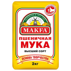 Мука Макфа пшеничная, 2кг
