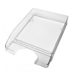 Лоток для бумаг Attache Line прозрачный 340х255х63мм