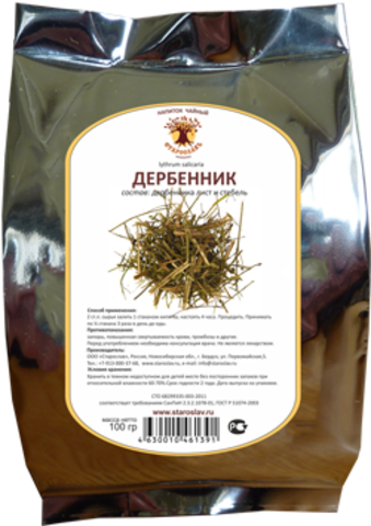 Дербенник (трава, 100гр.) (Старослав)