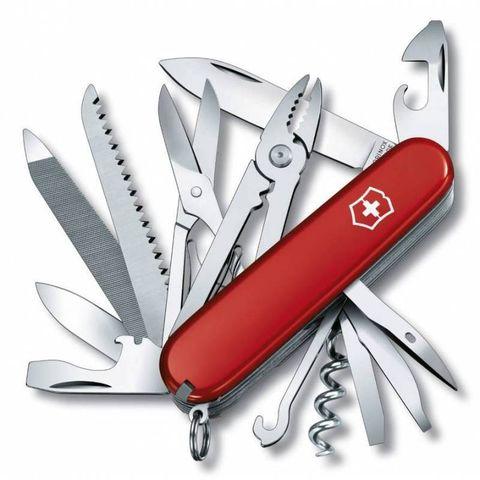 Нож перочинный Victorinox Handyman (1.3773) 91мм 24функций красный
