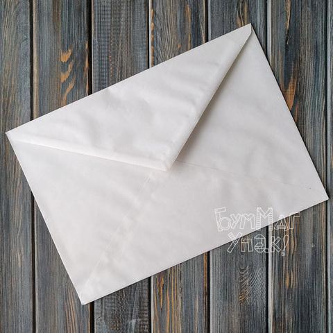 Конверт белый С4 (229*324мм) треугольный клапан