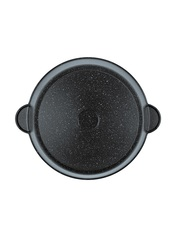 Жаровня - сотейник с крышкой 4,5 литра DARIIS с 3-х слойным антипригарным покрытием ЖБВР-28 серия Гранит Мечта диаметр 28 см
