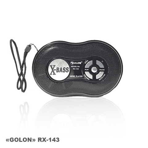 Портативная колонка Golon RX-143 MP3/FM/MicroSD/USB