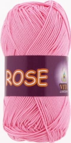 Пряжа Rose (Vita cotton) 3933 Розовый