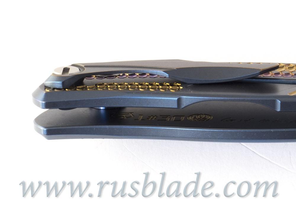 Shirogorov CUSTOM Flipper 95 Firedrake project s30v - фотография
