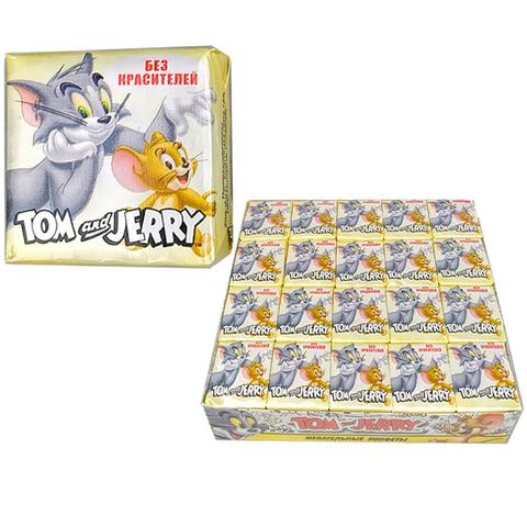 Том и Джерри жевательные конфеты со вкусом Дыня 1кор*18бл*40шт 11.5гр