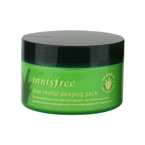 Innisfree Aloe Revital Sleeping Pack ночная оживляющая ночная маска с алоэ вера