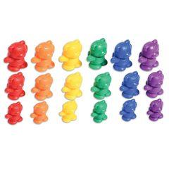 Развивающая игрушка фигурки Мишки с рюкзаками (счетный материал, 61 элемент) Edx education