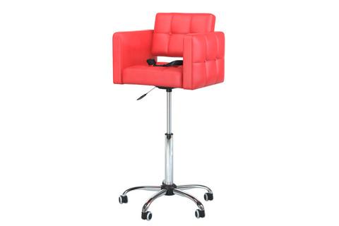 Детское парикмахерское кресло Quanto mini цвет красный