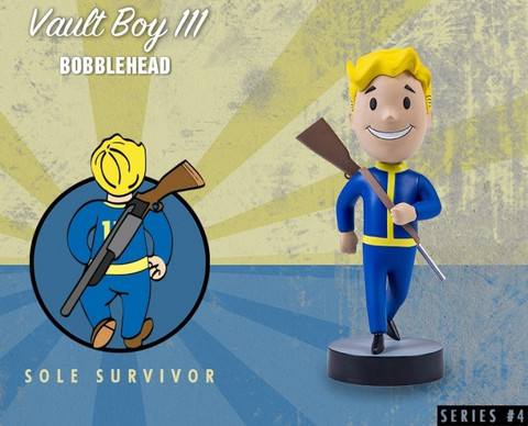 Фигурка Fallout 4 Vault Boy (Sole Survivor)