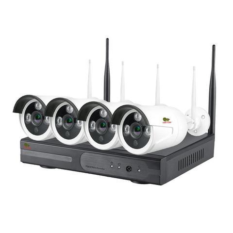 Комплект беспроводного видеонаблюдения Partizan  на 4 камеры 5Мп Outdoor Wireless Kit 4MP 4xIP v1.0 (82077)