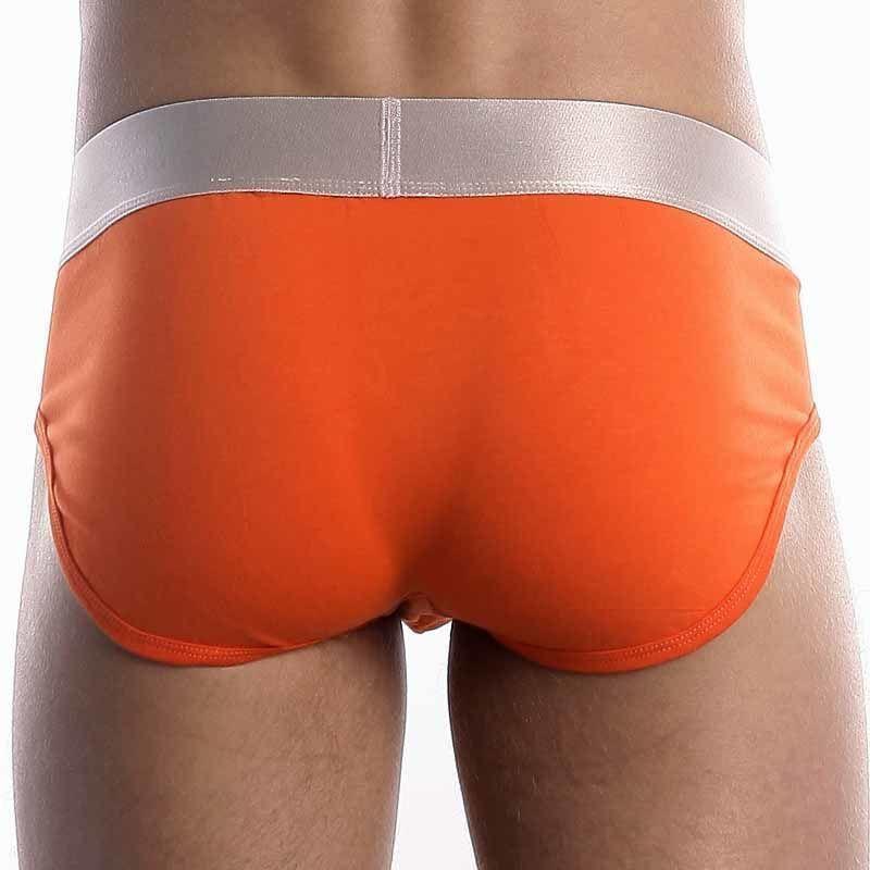 Мужские брифы оранжевые из модала Calvin Klein MODAL brief Orange