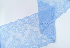 Эластичное кружево, 22 см, голубая мечта, м, (Арт: EK-2291), м