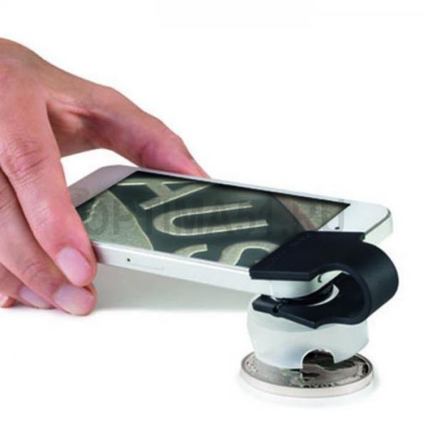 Макролинза PHONESCOPE на смартфон с 60x увеличением