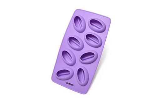"""6568 FISSMAN Форма для льда и шоколада """"Кофейные зерны"""" 8 яч./ 21x11x2,5 см, силикон,  купить"""