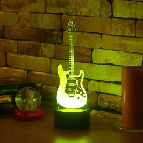 Светильник Электрогитара
