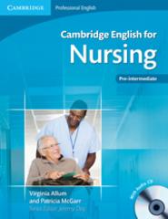 Cambridge English for Nursing Student's Book with Audio CDs (2) (Pre-Intermediate to Intermediate)