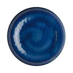Melamine Dessert Plate Harmony, Blue, 6 Pc