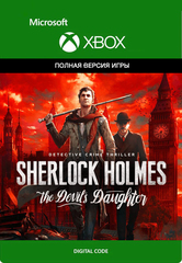 Sherlock Holmes: The Devil's Daughter (Xbox One/Series S/X, цифровой ключ, русские субтитры)