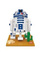 Конструктор Wisehawk & LNO Дроид-астромеханик R2-D2 569 деталей NO. 2407 R2-D2 big Gift Series