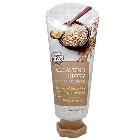 Welcos Cleansing Story Foam Cleansing Germinated Brown Rice пенка для умывания с экстрактом бурого риса