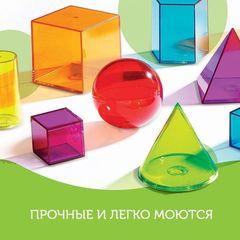 Набор объемных геометрических фигур (14 элементов) Learning Resources