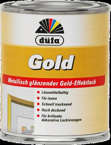 Dufa GOLD/Дюфа Голд эмаль золотая