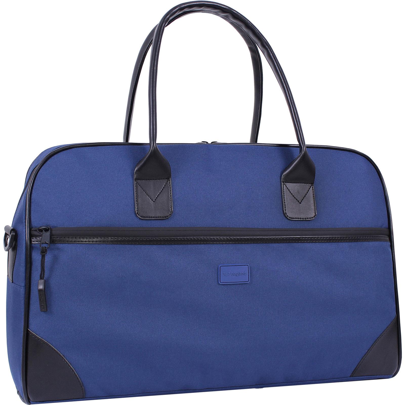 Дорожные сумки Сумка Bagland Infantino 36 л. Синий (0033066) IMG_9307.JPG