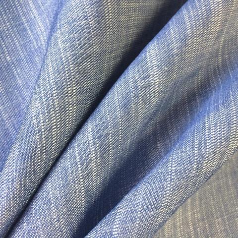 Ткань лен джинсовый 3245