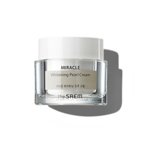 THE SAEM Miracle Крем дневной осветляющий MIRACLE Whitening Pearl Cream 50мл