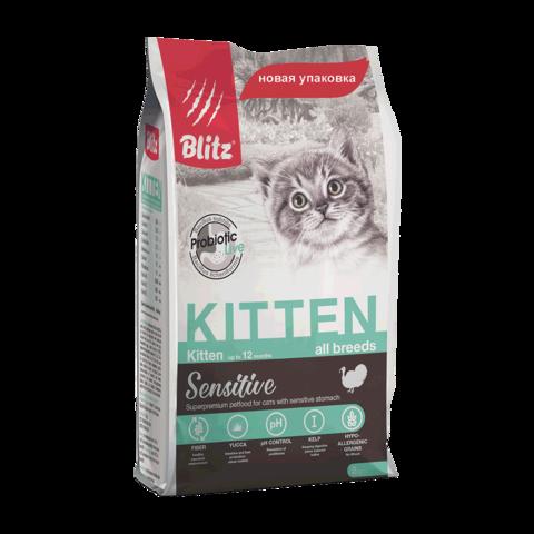 Blitz Сухой корм для котят, беременных и кормящих кошек