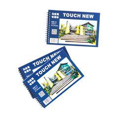 Скетчбук для маркеров Touch New, А5, на спирали
