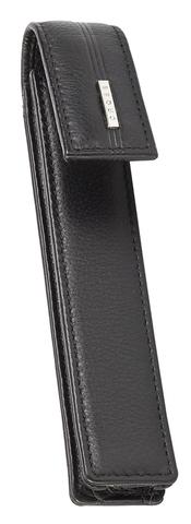 Чехол для ручки Cross, одинарный, кожаный, черный123