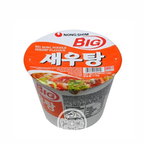 Лапша б/п Shrimp Сеутанг со вкусом креветок острая 115г Южная Корея