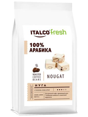 Кофе в зернах ITALCO Нуга (Nougat) ароматизированный, 375 г