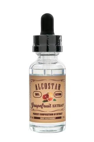 Натуральная эссенция Alcostar Grapefruit (Грейпфрут), 30 ml