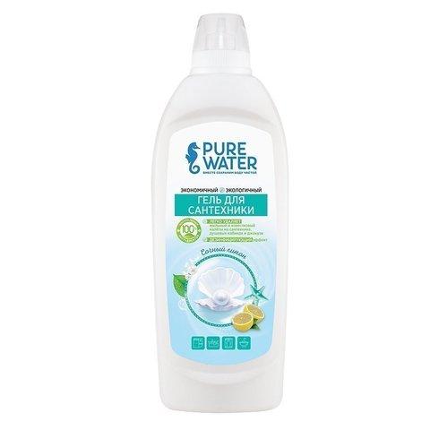 Гель для сантехники торговой марки Сочный лимон 500 мл (Pure water)