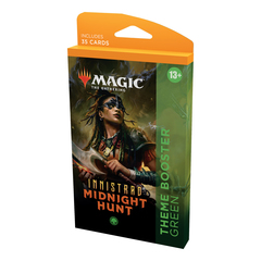 Тематический зелёный бустер «Innistrad: Midnight Hunt»