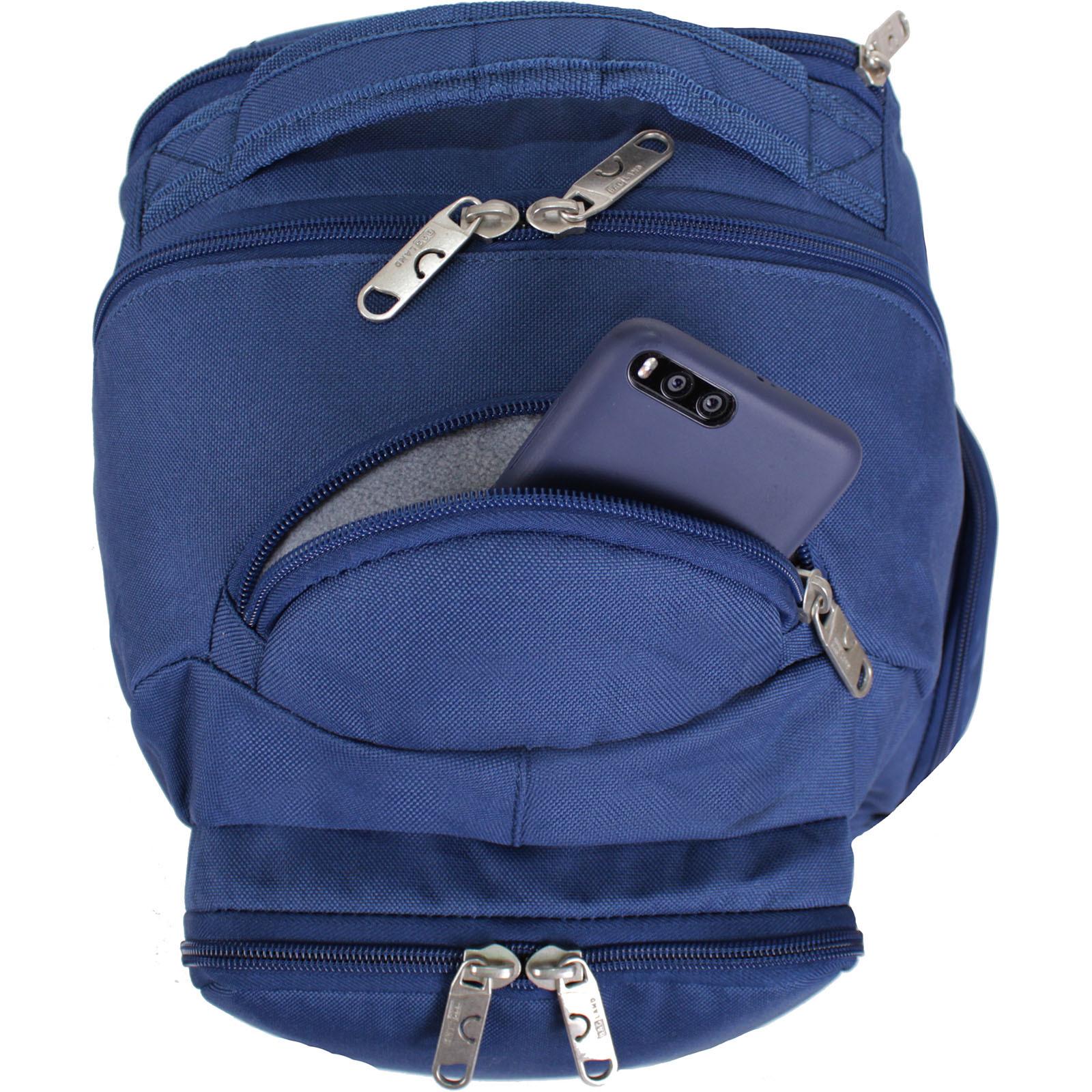 Рюкзак для ноутбука Bagland Техас 29 л. Синий (00532662)