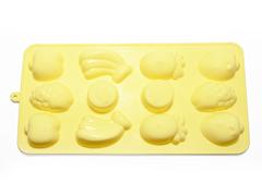 """6547 FISSMAN Форма для льда и шоколада """"Фрукты"""" 21x11x2 см"""