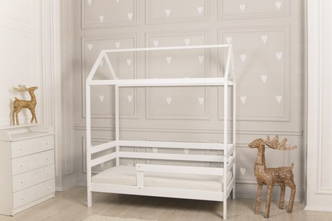 Кроватка-домик  Incanto  «Dream Home» цвет белый