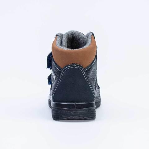 Ботинки черно-коричневые