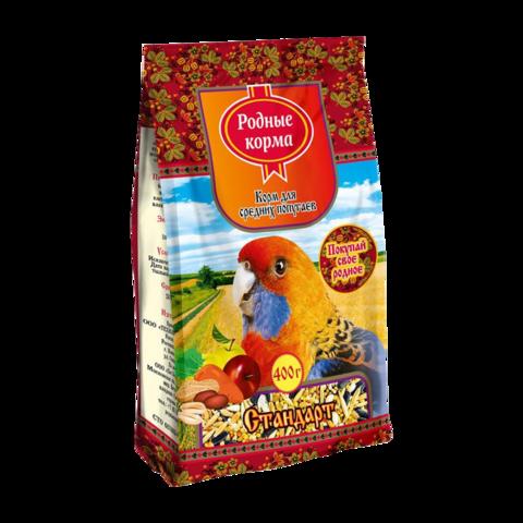 Родные корма Стандарт Сухой корм для средних попугаев