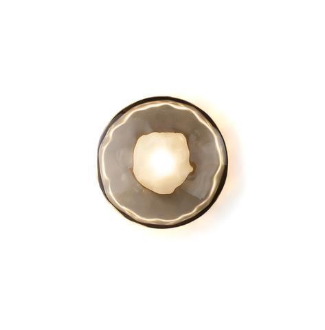 Настенный светильник копия Ceto by Ross Gardam 1 плафон (черный)